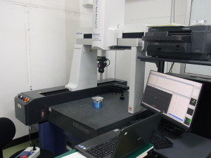 CNC三次元測定機導入